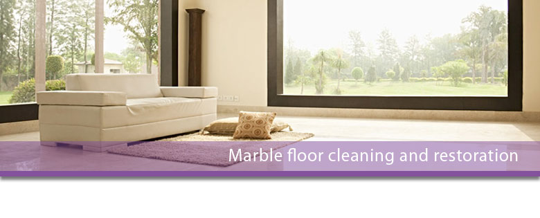 Marble floor cleaning and restoration Leicester